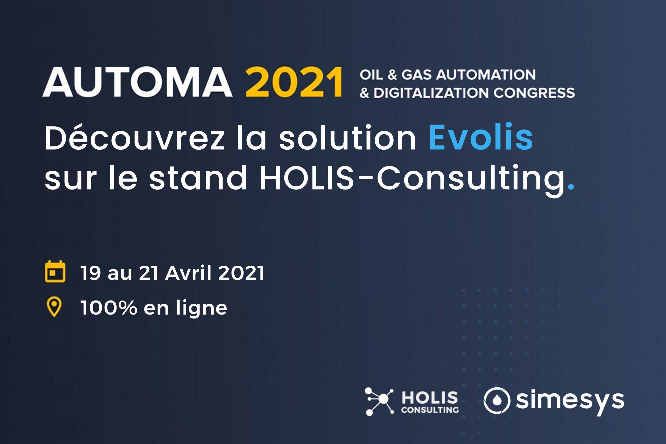 Evolis Automa 2021 : Découvrez la solution sur le stand Holis-Consulting