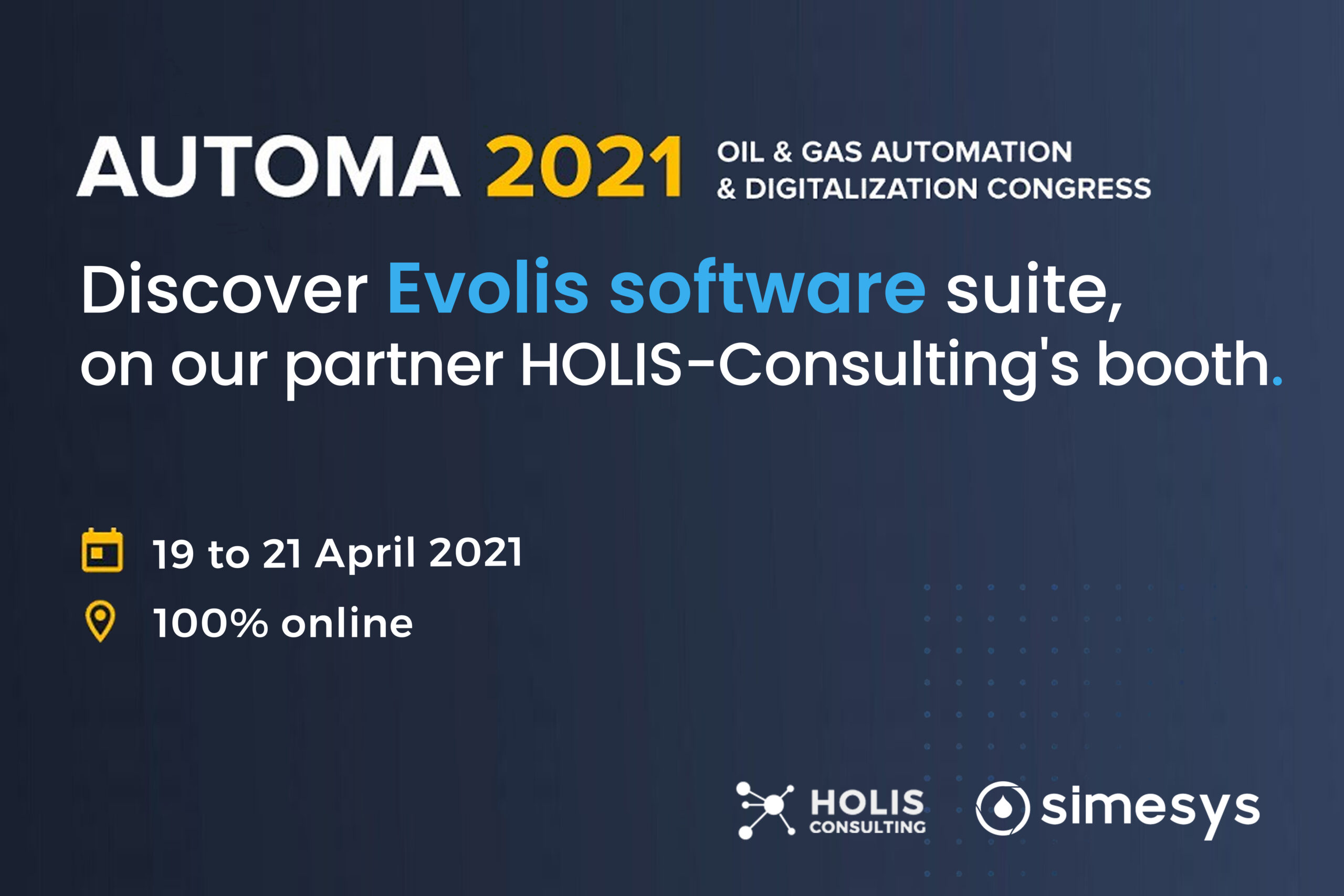 Evolis at Automa 2021 Discover Simesys solution / Holis-Consulting booth